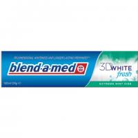 PASTA DO ZĘBÓW 3D WHITE FRESHEXTREME MINT KISS 100 ML.