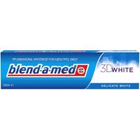 PASTA DO ZĘBÓW 3D WHITE DELICATE WHITE 100ML