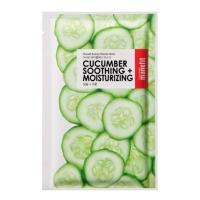 Beauty Planner Mask, kojąca-nawilżająca maseczka w płachcie do twarzy Cucumber