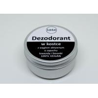 Dezodorant w kostce o zapachu lawendy i limonki z węglem aktywnym